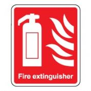 Fire safety sign - Fire extinguisher 057